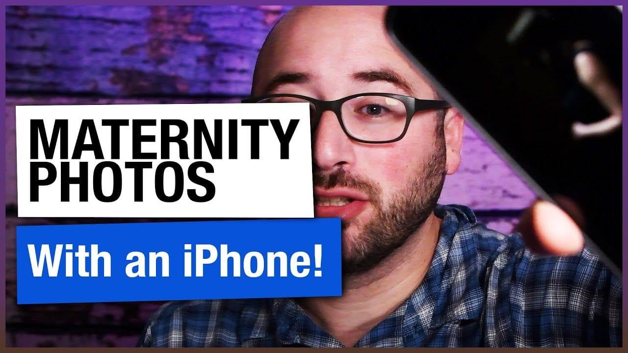 iPhone Maternity Photos – iPhone Photography Tip