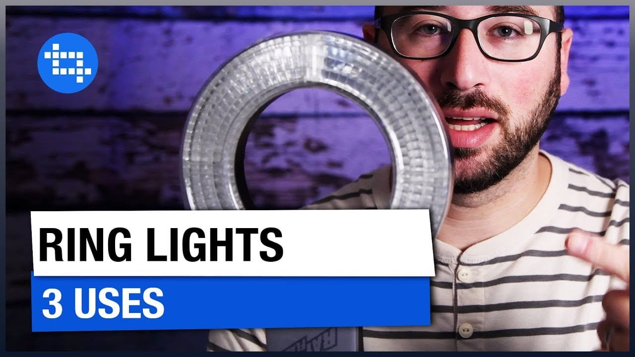 3 ways to use a ring light in photography