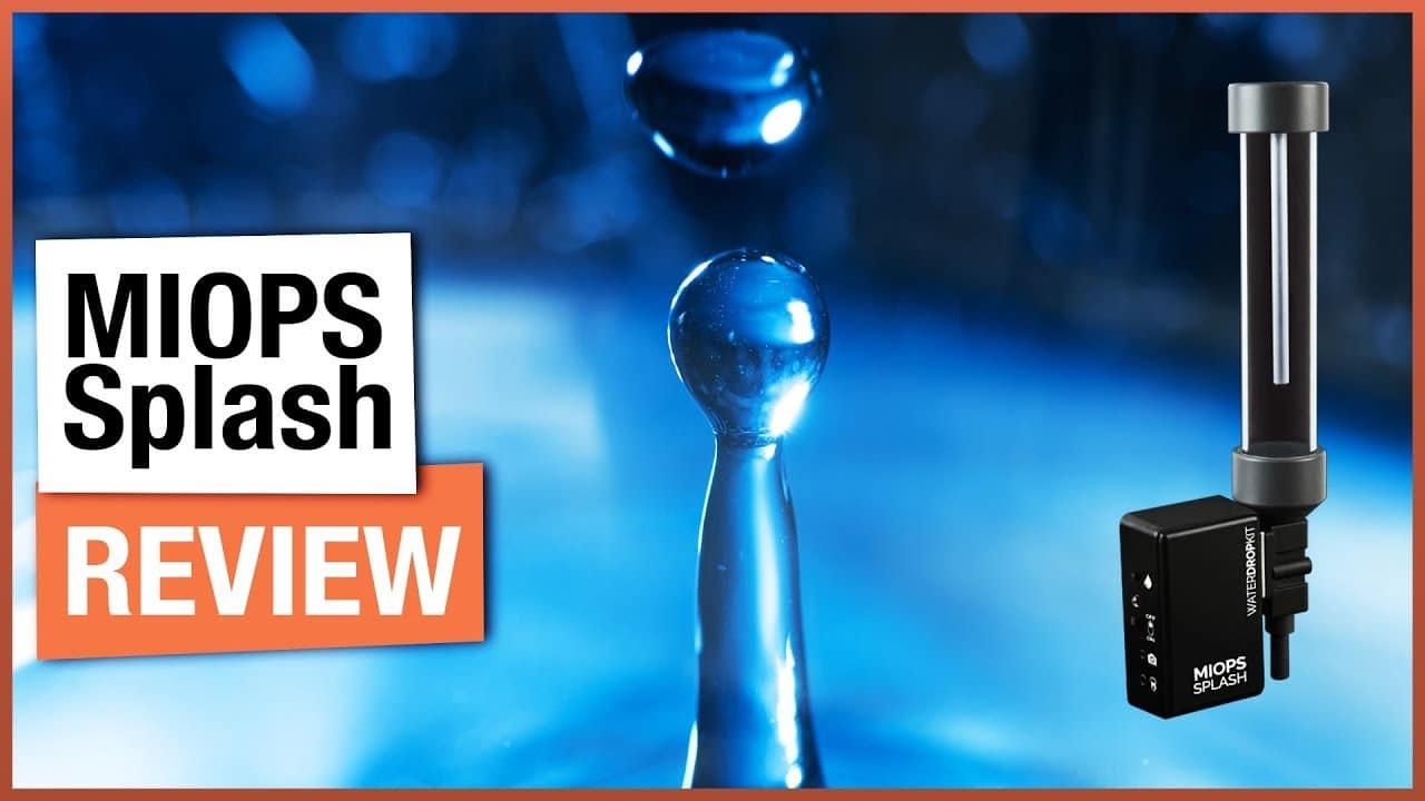 Water Drop Photography Setup – MIOPS Splash Review