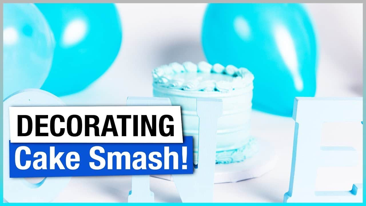 Cake Smash Session – Decorating for Cake Smash Photographs
