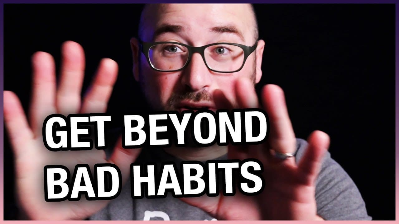 Growing Your Photography Business | Get Beyond Bad Habits