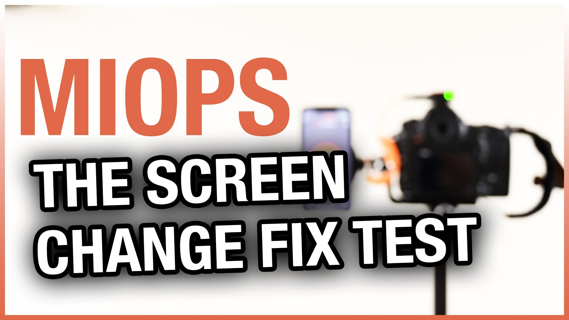 MIOPS Mobile App Screen Changing Fix Test