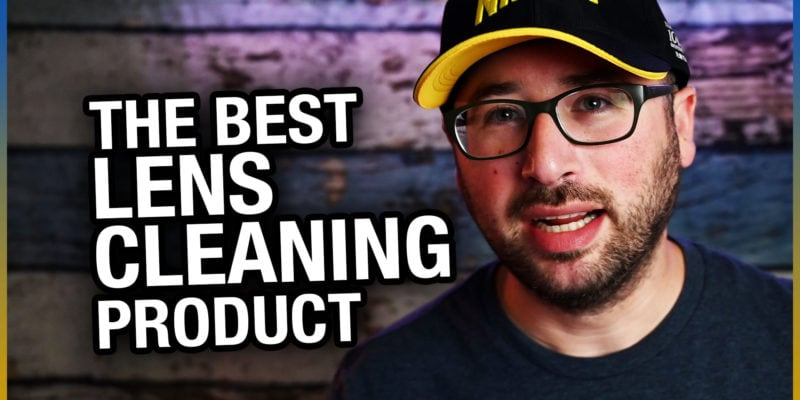 Lens Cleaning Wipes – The best lens cleaning product
